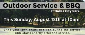 Outdoor Service & BBQ @ Dallas City Park | Dallas | Oregon | United States